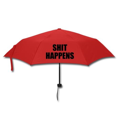 Shit happens umbrolly - Umbrella (small)