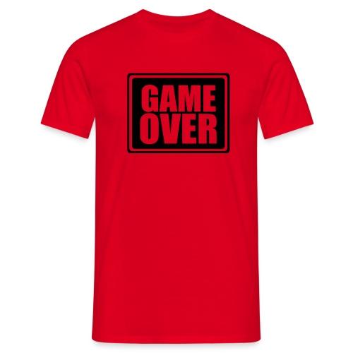 game over shirt - Männer T-Shirt