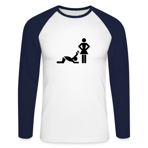 Whatever you want - Männer Baseballshirt langarm