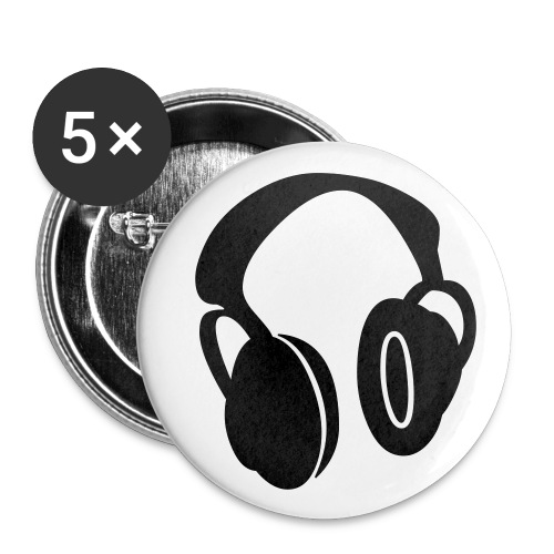 headphones badges - Buttons small 25 mm