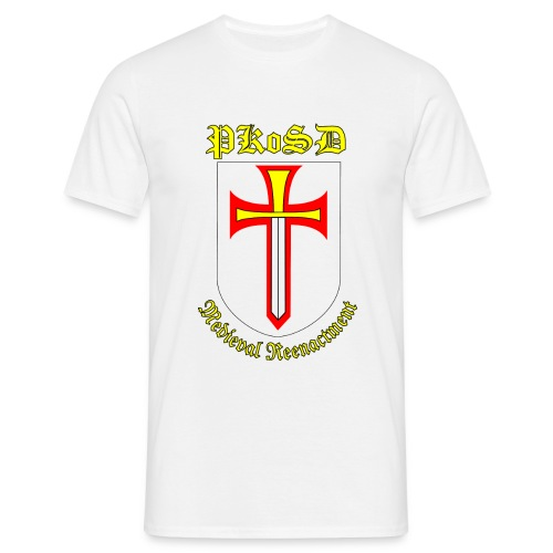 Men's PKoSD White T Shirt - Men's T-Shirt