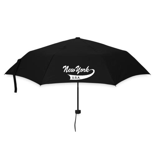 Regenschirm NEW YORK USA schwarz - Regenschirm (klein)