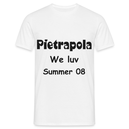 We luv pietrapola 2008 - T-shirt Homme