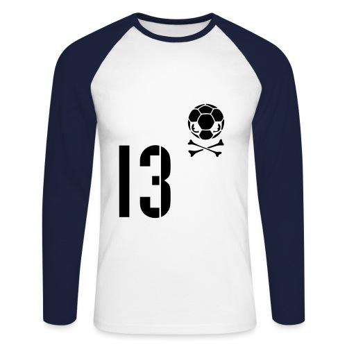 teeshirt manches longues A jamais Marseillais - T-shirt baseball manches longues Homme