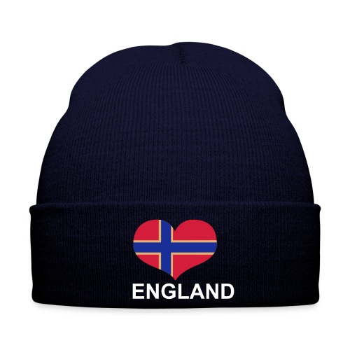 Norway Loves England Hat - Winter Hat