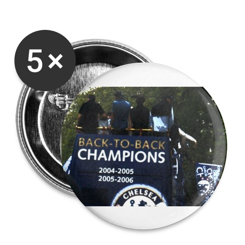 Back to back - Buttons small 1''/25 mm (5-pack)