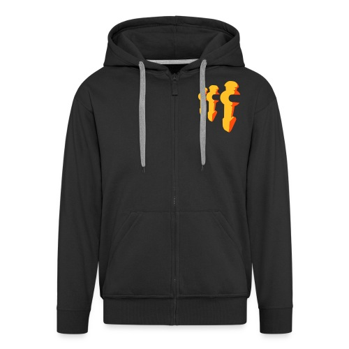 Foosball - Men's Premium Hooded Jacket