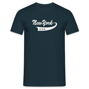 T-Shirt NEW YORK USA navy - Männer T-Shirt