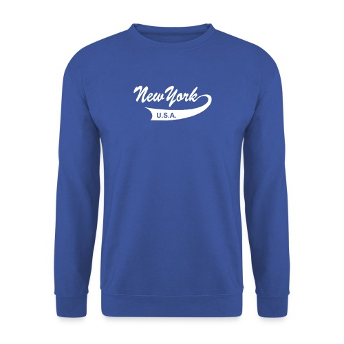 Sweatshirt NEW YORK USA rot - Männer Pullover