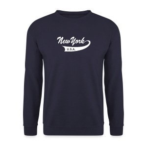 Sweatshirt NEW YORK USA navy - Männer Pullover