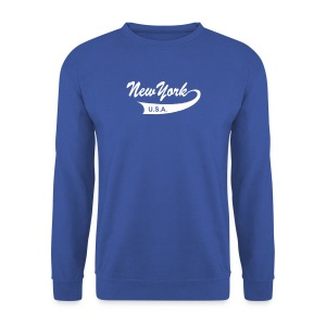 Sweatshirt NEW YORK USA army - Männer Pullover