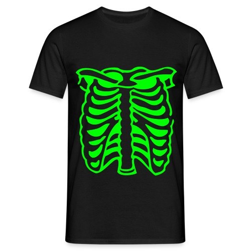 Neon Rib Cage  - Mens T-shirt - Men's T-Shirt