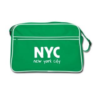 Retro-Tasche NYC braun/sand - Retro Tasche