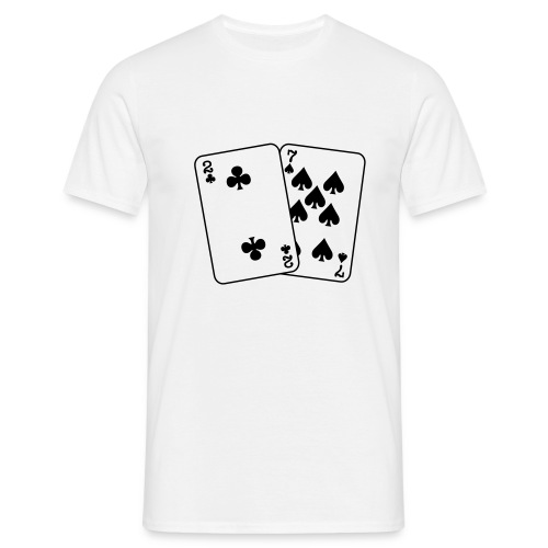 Inga dåliga kort innan floppen - T-shirt herr