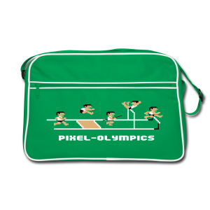 Pixel-Athletics - Retro Bag
