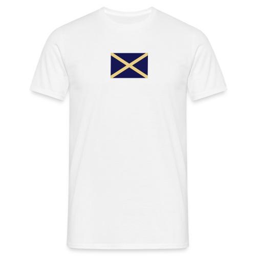 scots saltire - Men's T-Shirt
