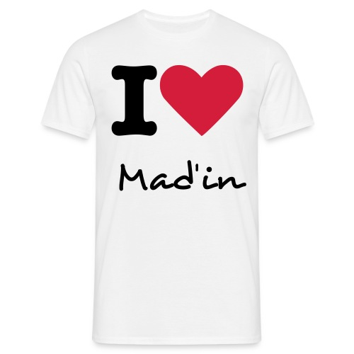 T-shirt Homme Mad'in - T-shirt Homme
