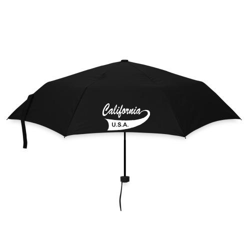 Regenschirm CALIFORNIA USA schwarz - Regenschirm (klein)