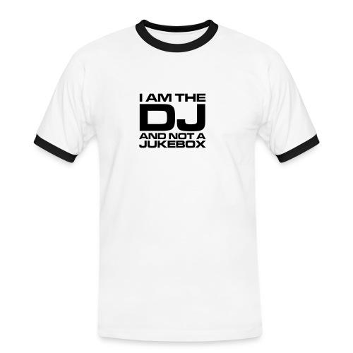 DJ Slim Contrast Tee - Men's Ringer Shirt