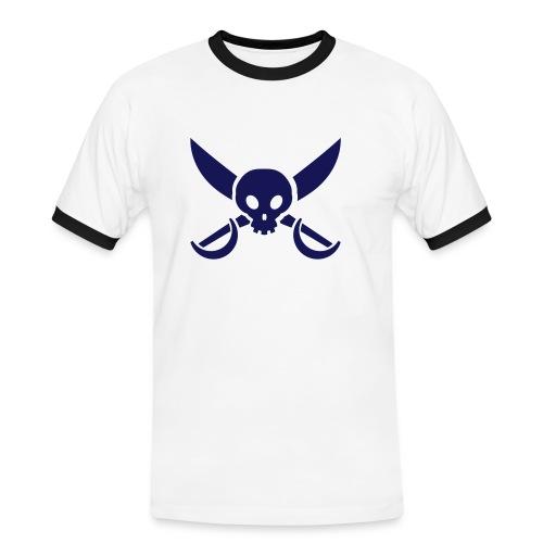 Crewshirt Balearen '08  - Männer Kontrast-T-Shirt