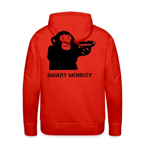 Unfinished Monkey Business - Men's Premium Hoodie