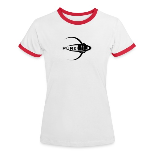 PURE. Women's Cuff T - Women's Ringer T-Shirt