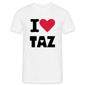 I Love TAZ Tee - Men's T-Shirt