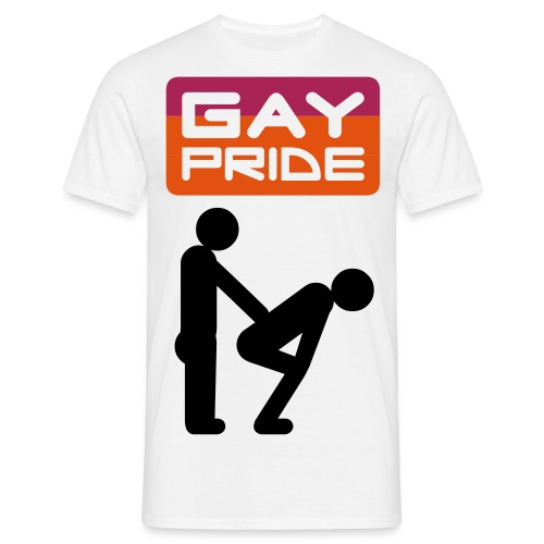Gay Pride T-Shirt - Men's T-Shirt