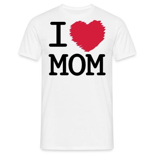 I heart mom T-Shirt - Men's T-Shirt