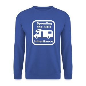 Spending the kid's inheritance sweatshirt - Men's Sweatshirt