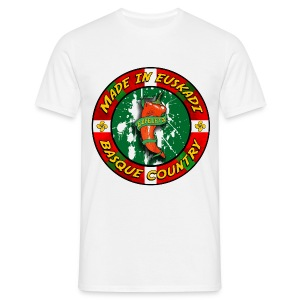 t-shirt Espelette (Pays Basque) - T-shirt Homme