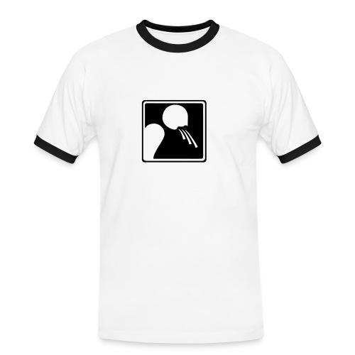 A.C. - Maglietta Contrast da uomo