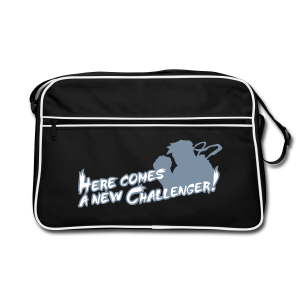 Here comes a new challenger! (silverprint) - Retro Bag