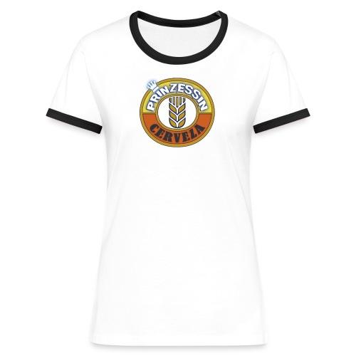 Cerveza_Kontrast - Frauen Kontrast-T-Shirt