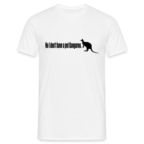 No Pet Kangaroo - Mens (14 Colours) - Men's T-Shirt