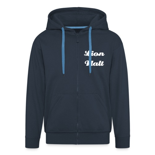 BOOSHTASTIC BLUETRONICA - Men's Premium Hooded Jacket
