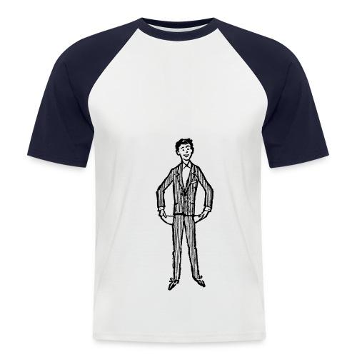 pleite - Männer Baseball-T-Shirt