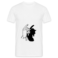 T-Shirts ~ Männer T-Shirt ~ Finger