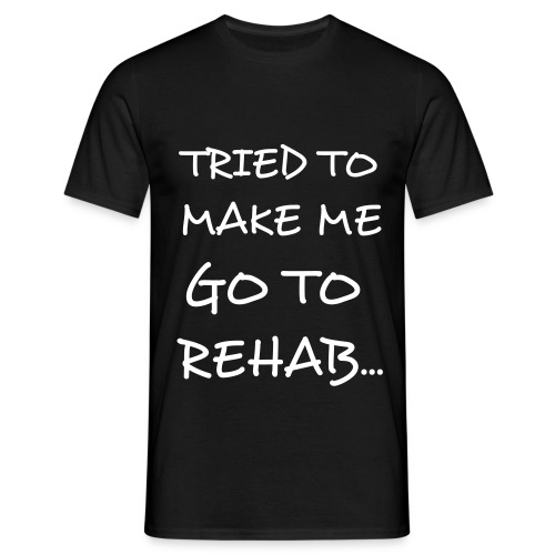 Mens Rehab Tee - Men's T-Shirt
