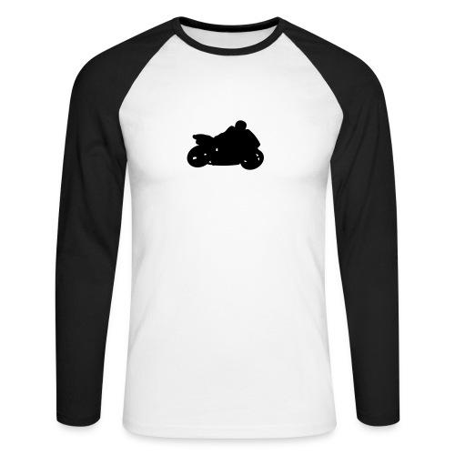 BLUZA MOTORBIKE - Koszulka męska bejsbolowa z długim rękawem