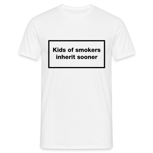 Smokers' Kids - Men's T-Shirt