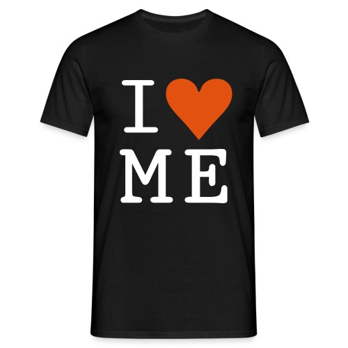 I Love Me - Black T - Men's T-Shirt