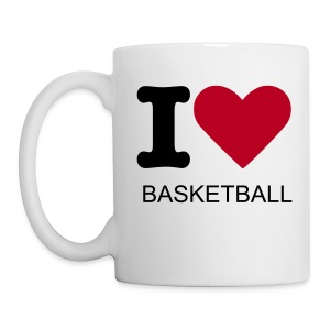 Tazza I LOVE BASKETBALL - Tazza