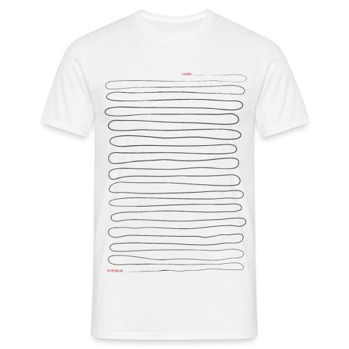 Ilvespoika Viiva/Aki on paska - Miesten t-paita