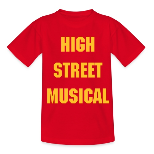 HIGH STREET MUSICAL - Teenage T-Shirt