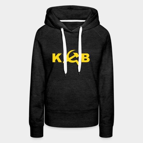 KGB (girl) !! Flockdruck !! - Frauen Premium Hoodie