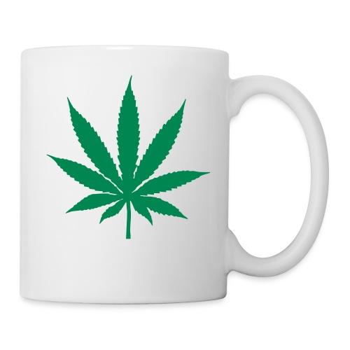 ganja leaf mug - Mug