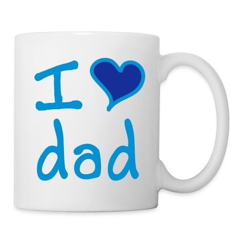 i love dad mug - Mug