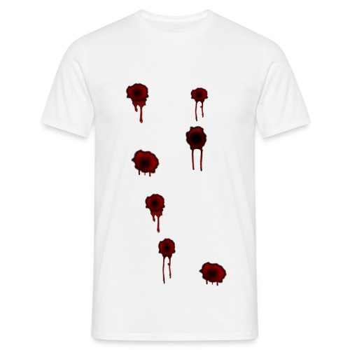 impact sanglant - T-shirt Homme