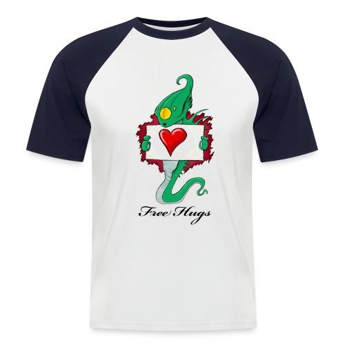Free Hugs (Alien) - T-shirt baseball manches courtes Homme